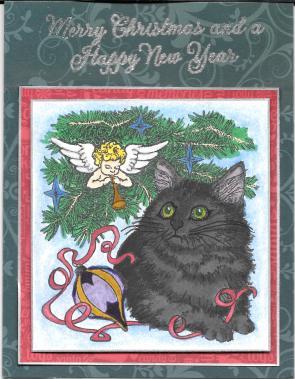 Boo Xmas Card 2014
