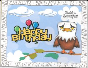 Billy's BD card front