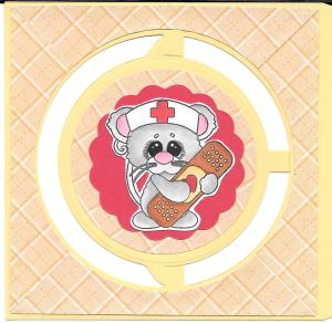 First aid mouse front