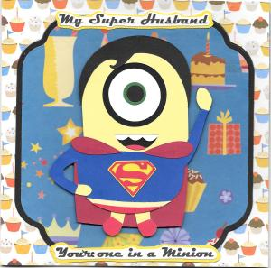 Super Man Minion HB in 300 dpi