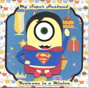 Super Man Minion HB in 300 dpi