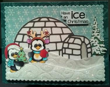 Christmas Penguins - Igloo