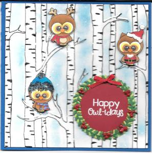 Happy Owl-idays